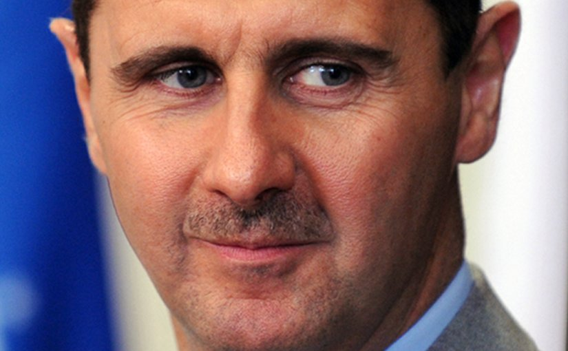 Syria's Bashar Al-Assad. Photo by Fabio Rodrigues Pozzebom / ABr, Wikimedia Commons.
