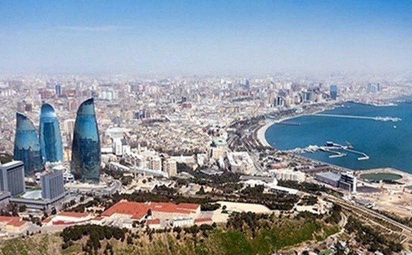 Baku, Azerbaijan. Source: Wikipedia Commons.