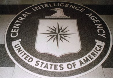 CIA seal in the lobby of the original headquarters building. Source: CIA, Wikipedia Commons.