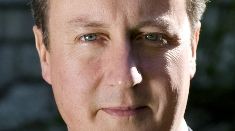 United Kingdom's David Cameron. Official photo UK government, Wikipedia Commons.