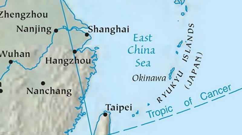 East China Sea. Source: CIA World Factbook.