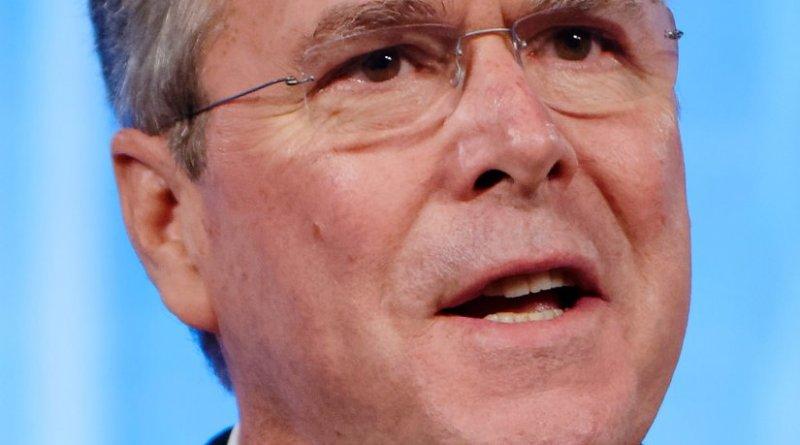 Jeb Bush. Photo by Michael Vadon, Wikipedia Commons.