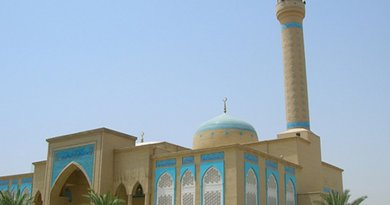 Mosque in Kuwait. Photo by Abza, Wikipedia Commons.