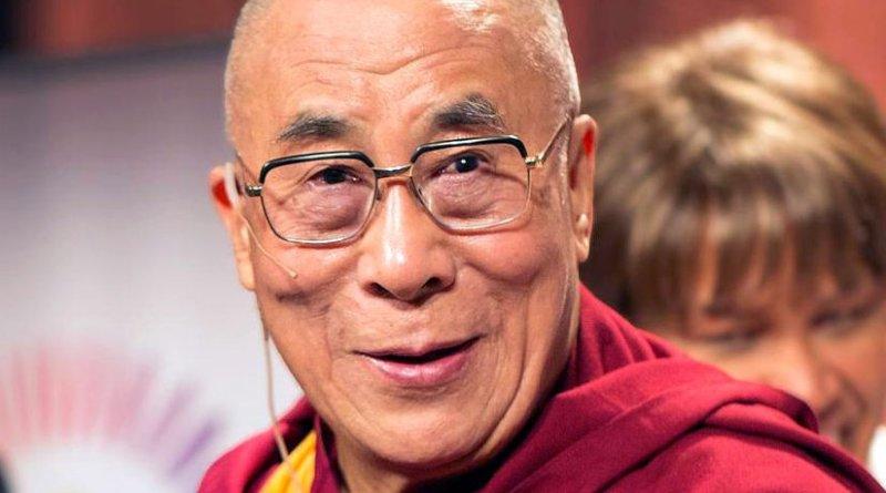 Dalai Lama. Photo by *christopher*, Wikipedia Commons.