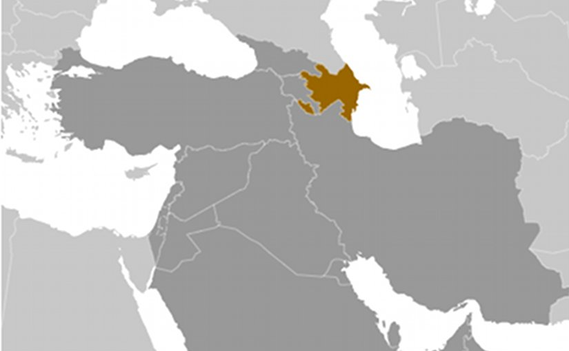 Location of Azerbaijan. Source: CIA World Factbook.
