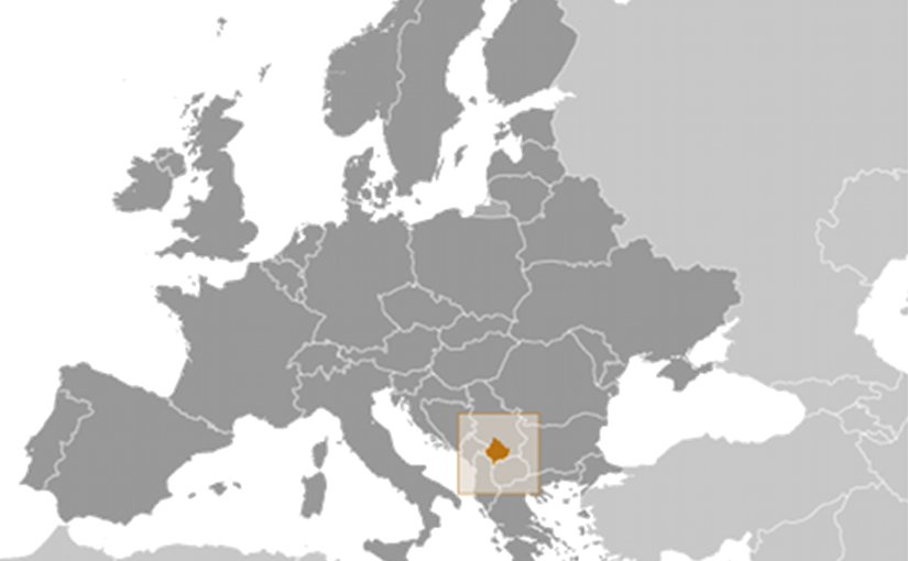 location of kosovo source cia world factbook