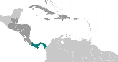 Location of Panama. Source: CIA World Factbook.