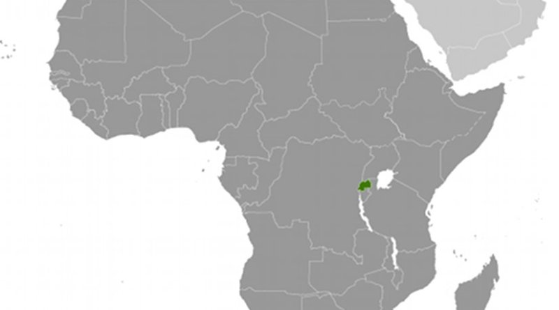 Location of Rwanda. Source: CIA World Factbook.
