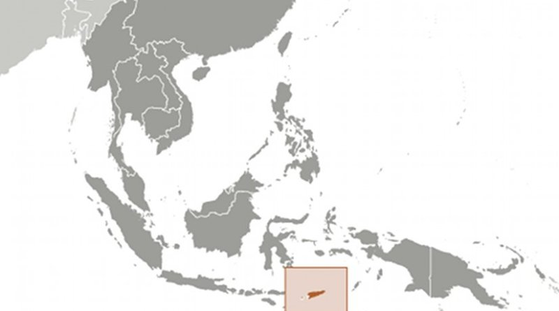 Location of Timor-Leste. Source: CIA World Factbook.