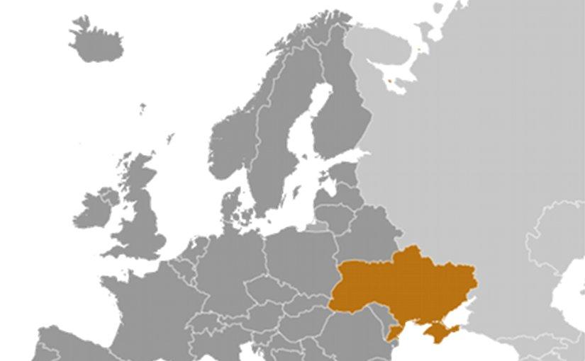 Location of Ukraine. Source: CIA World Factbook.