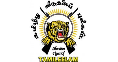 Symbol of Liberation Tigers of Tamil Eelam (LTTE)