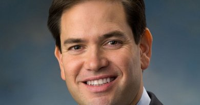 Marco Rubio. Source: Official portrait US Senate.