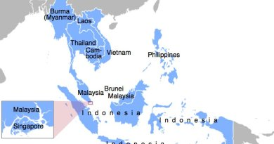 Member states of ASEAN. Source: Wikipedia Commons.