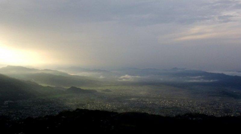 Nepal landscape.