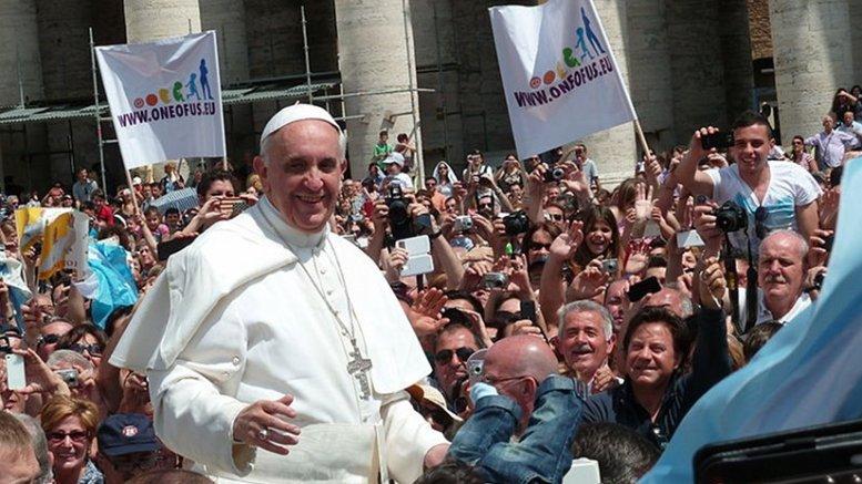 Pope Francis. Photo by Edgar Jiménez, Wikipedia Commons.