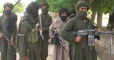 Taliban fighters in Afghanistan. Source: Wikipedia Commons.