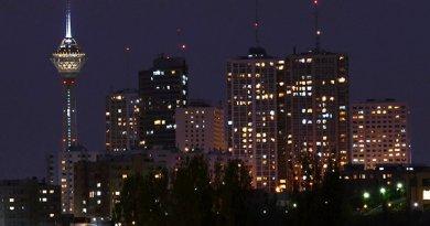 Tehran, Iran. Photo by Mehrad Watson, Wikipedia Commons.