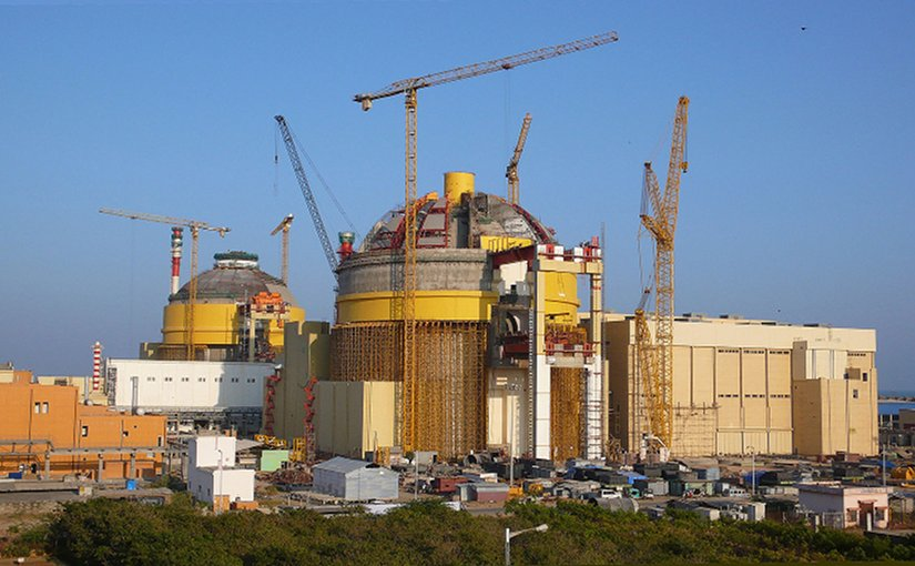 India's Koodankulam Nuclear Power Plant. Source: Petr Pavlicek/IAEA, Wikipedia Commons.