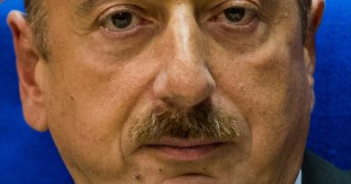 Azerbaijan's Ilham Aliev. Photo by Claude TRUONG-NGOC, Wikimedia Commons.
