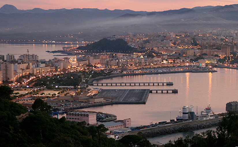 Ceuta, Spain. Photo by Víctor Fernández Salinas, Wikipedia Commons.