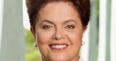 Brazil's Dilma Rousseff. Official State photograph.