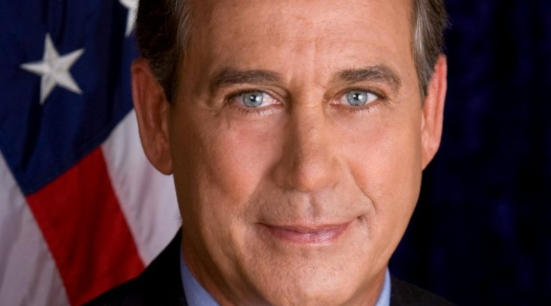 John Boehner. Photo Credit: United States House of Representatives.