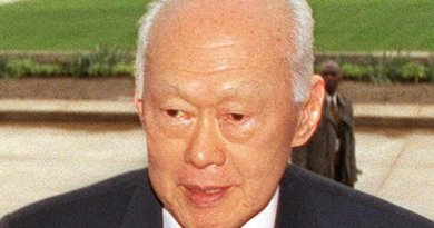 Singapore's Lee Kuan Yew. Photo Credit: USGov-Military, Wikipedia Commons.