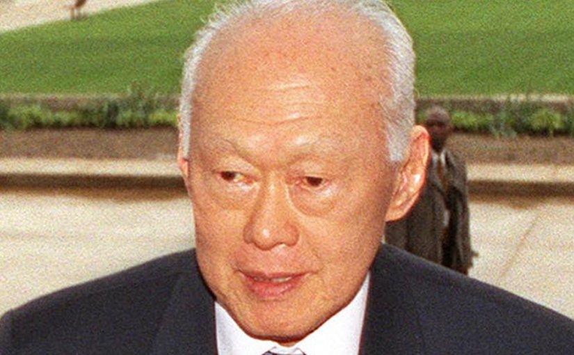 Singapore's Lee Kuan Yew. Photo Credit: USGov-Military, Wikipedia Commons.