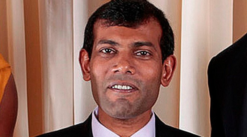 Maldives' Mohammed Nasheed. Official White House Photo by Lawrence Jackson, Wikipedia Commons.