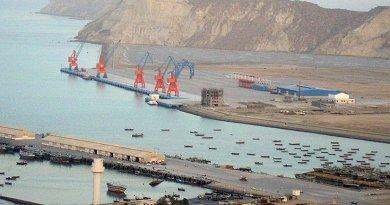 Pakistan's Gwadar Port. Photo by Paranda, Wikipedia Commons.