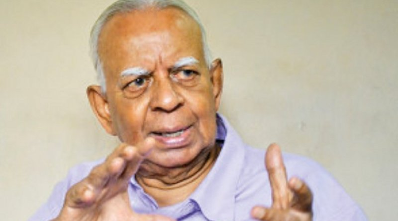 Sri Lanka's Rajavarothyam Sampanthan. Photo Credit: Sri Lanka government.