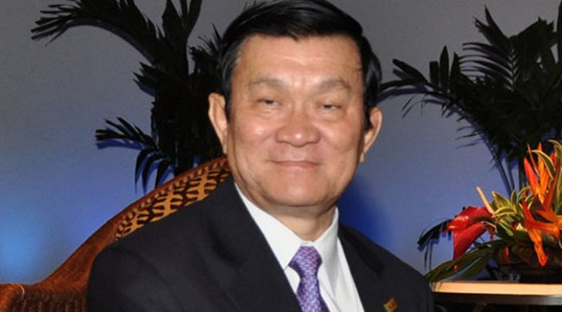 Vietnam's Truong Tan Sang. Photo Credit: Presidencia Perú, Wikipedia Commons.