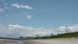 Japan's Sendai Nuclear Plant. Photo by KEI, Wikipedia Commons.