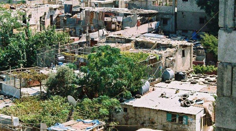 Sabra Shatila refugee camp in Lebanon. Photo by Deutsch Laender, Wikipedia Commons.