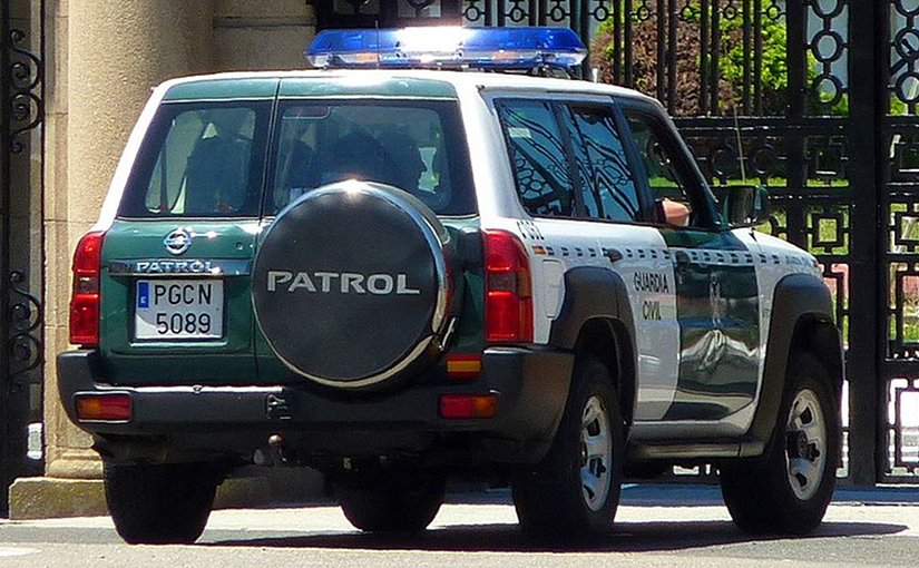 Spain's Guardia Civil. Photo by Outisnn, Wikipedia Commons.