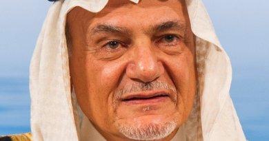 Saudi Arabia's Prince Turki Al Faisal bin Abdulaziz Al Saud. Photo by Marc Müller, Wikipedia Commons.
