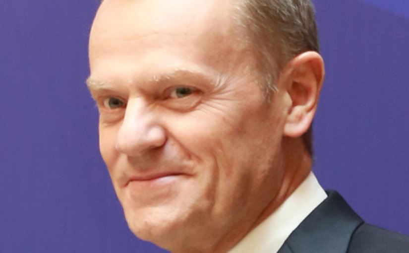 EU's Donald Tusk. Photo by European People's Party, Wikipedia Commons.
