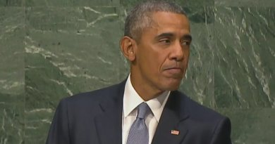 US President Barack Obama speaks at United Nations