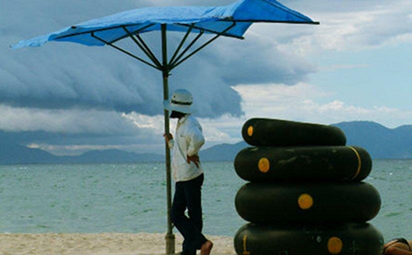 Vietnam beach.