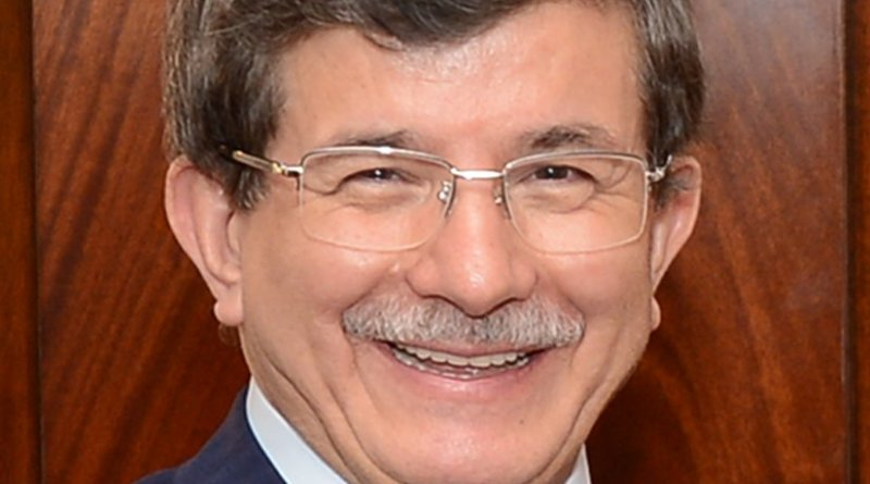 Turkey's Ahmet Davutoğlu. Photo Credit: U.S. Department of State, Wikipedia Commons.