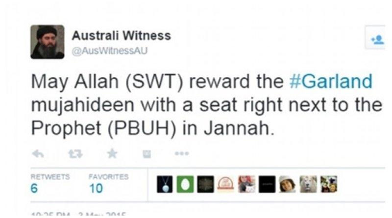 Tweet from Australi Witness.
