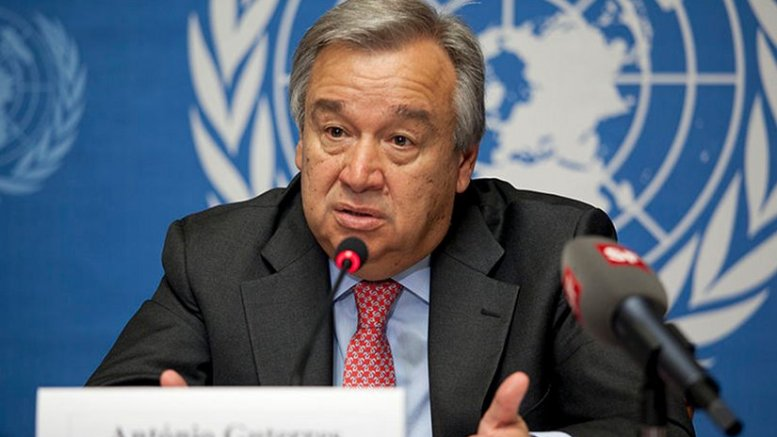 Portugal's Antonio Guterres. U.S. Mission Photo by Eric Bridiers, Wikipedia Commons.