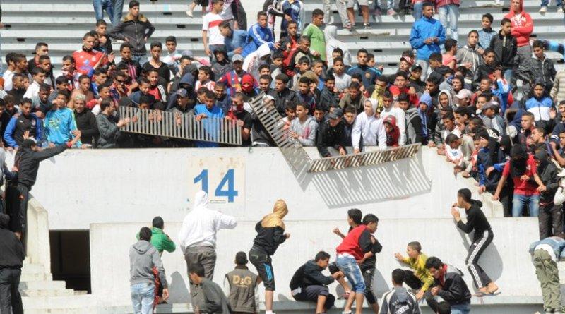 Moroccan football hooligans. Photo Credit: Magharebia, Wikipedia Commons.