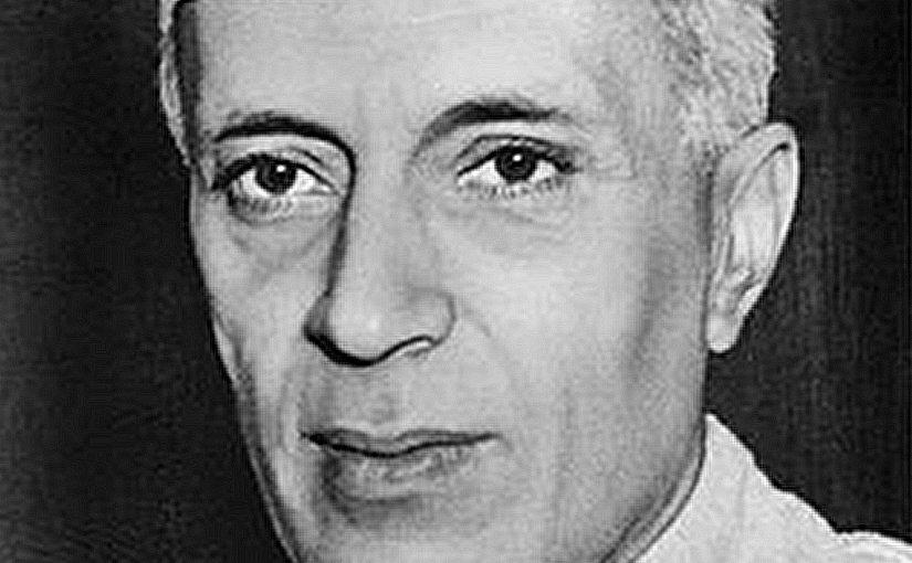 India's Jawaharlal Nehru. Photo by Royroydeb, AFP, Wikipedia Commons.