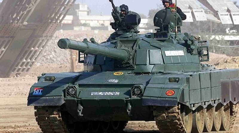 Al-Zarrar Main Battle Tank of the Pakistan Army. Photo by Raza0007, Wikipedia Commons.