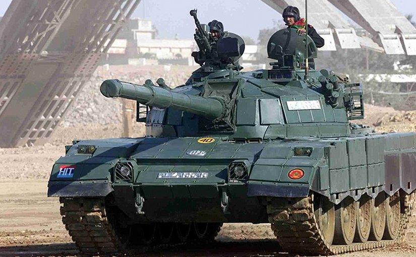 Al-Zarrar Main Battle Tank of the Pakistan Army. Photo by Raza0007, Wikipedia Commons.