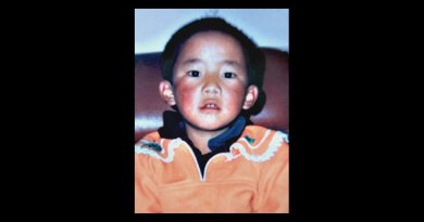 Widely distributed image of the missing 11th Panchen Lama Gedun Choekyi Nyima. Photo Credit: Central Tibetan Administration, Wikipedia Commons.