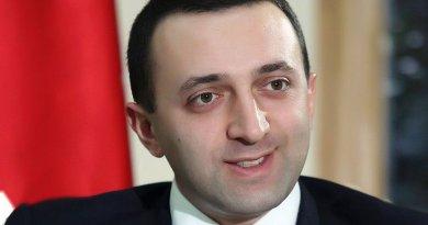 Georgia's Irakli Garibashvili. Photo by Giorgi Kakulia, Wikipedia Commons.