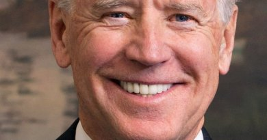 Official portrait of Vice President Joe Biden. Source: White House, Wikipedia Commons.