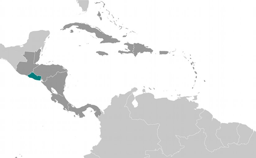 Location of El Salvador. Source: CIA World Factbook.